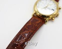 New Rare Ltd Ed. 1881 Movado Chronograph Automatic Watch, 18K Rose Gold Case