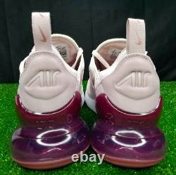 New Rare Nike Air Max 270 Women's Size 9 Rose / Vintage Wine AH6789-601
