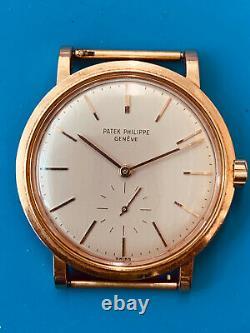Patek Philippe Rare Ref 3429 Calatrava Rose Gold (502)