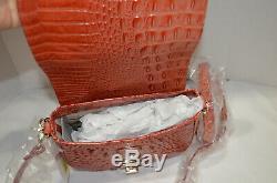 RARE $225 NWT Brahmin Mini Sonny Rose Quartz Melbourne Crossbody red