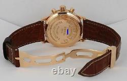 RARE Breguet Type XXI Transatlantique Salmon 18K Rose Gold Chronograph 3820 40mm