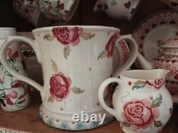 RARE Emma Bridgewater Rose And Bee Two Handled Love Cup/Vase