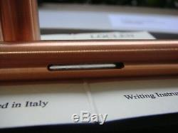 RARE LOCLEN Rose Gold SPECIAL EDITION Big Liliput Made of copper Fountain pen