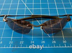 RARE OAKLEY WHY 8 Bronze Frame Rose Tint Lens sunglasses
