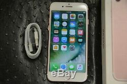 (RARE OS 10.2.1) Apple iPhone 7 128GB Rose Gold (T-Mobile) MNA42LL/A (GSM) A1778