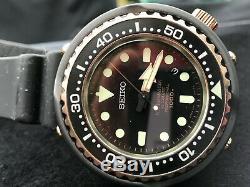 RARE! Seiko 50th Anniversary Marinemaster 1000m Emperor Tuna Rose Gold SBDX014