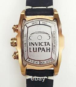 RARE, UNIQUE Men's SWISS CHRONOGRAPH Watch INVICTA Lupah 6736