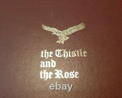 Rare 1970's Beneagles The Thistle & Rose Complete Porcelain Chess Set New In Box