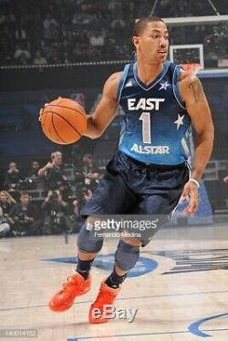 Rare Adidas Chicago Bulls Derrick Rose 2012 All Star Game Basketball Jersey