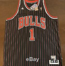 Rare Adidas HWC NBA Chicago Bulls Derrick Rose Basketball Jersey