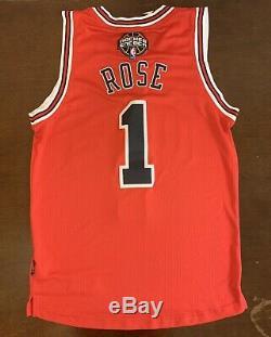 Rare Adidas NBA Chicago Los Bulls Derrick Rose Latin Nights Basketball Jersey