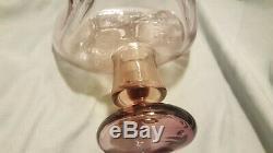 Rare Blenko Rose Pink 60s mcm WAYNE HUSTED Decanter