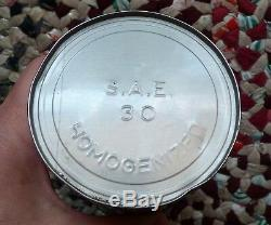 Rare Canadian White Rose EN-AR-CO 1 Imp. Qt motor oil tin can FREE SHIPPING