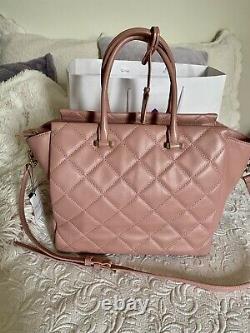 Rare KATE SPADE Emerson Place HAYDEN Leather Shoulder Bag $328 Smokey Rose Pink
