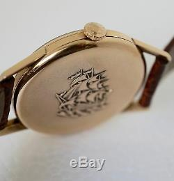 Rare Longin Flagship Men's 18k Rose gold watch in Mint Condition