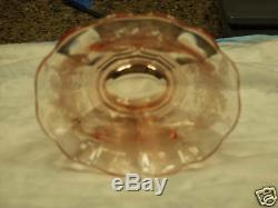 Rare Pink Peacock And Wild Rose Oval Ice Tub 6. ½ x 8¼