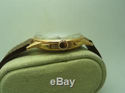 Rare Ulysse Nardin Chronograph, Solid 18k Rose Gold, 38mm Dia, Serviced