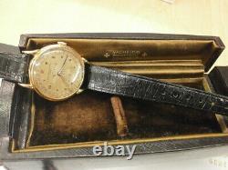 Rare Vacheron Constantin 4240 Era 1940s' Triple Calendar 18K Pink 35MM. Serviced