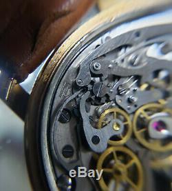 Rare Vintage Breitling 780 Premier 18k Rose Gold Mechanical 34mm Watch