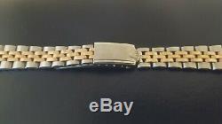 Rolex Rare Vintage Stainless Steel/Rose Gold Jubilee bracelet 13mm