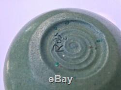 Rose Truchnovsky Vase Pottery Rare Canada Quebec