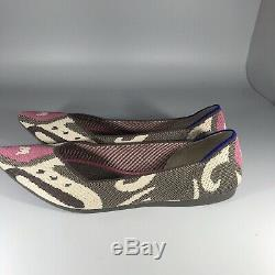 Rothys Moroccan Rose Points Size 10 Very Rare, retired, EUC