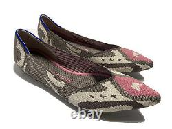 Rothys Womens The Point Moroccan Pink Rose Rare Washable Flats Worn Once Size 10