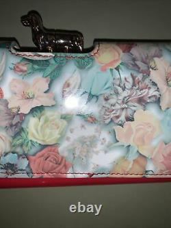 Ted baker Purse Extra Rare Butterflies, Roses, Dog Super Collectors Piece