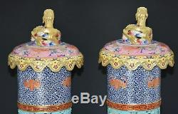 Ultra Rare Chinese Famille Rose Porcelain Incense Burner Marked Qianlong S8976