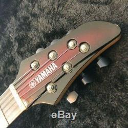 Used Yamaha RGX-TT MIJ Electric Guitar HSS Rose FB Serviced rare from japan