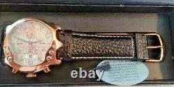 VERY RARE! Stauer ROSE Gold Guitar Automatic Watch FREE SHIP FANTASTIC! WOW