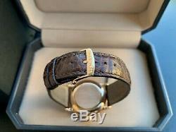 Very Rare Blancpain Villeret 18K Rose Gold Ultra Slim Big Date Watch FULL SET