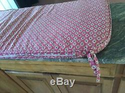Very Rare Pierre Deux Custom Seat/bench Cushion Rose Color