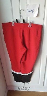 Victoria Secret PINK Large Rare Red Full Zip And Jogger Set EUC