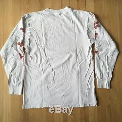 Vintage Depeche Mode T Shirt Long Sleeve 90s Violator Rose Rare