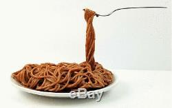 Vintage Frozen Moments Spaghetti Sculpture Aspen Geoffrey Rose Pop Art RARE