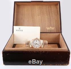 Vintage & Rare Rolex President 1803 Day-Date 18k Rose Gold 1974/1975- Box/Paper
