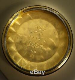 Vintage rare tristar Longines Conquest rose gold 18kt ref. 8332/3 cal 505